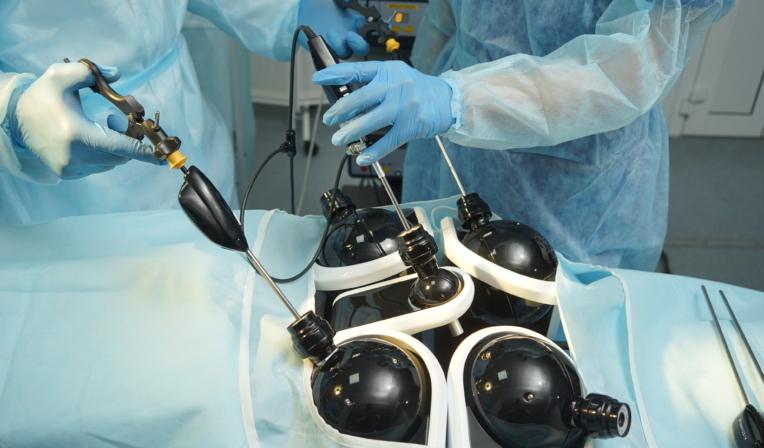 LapVision Instrument Handling