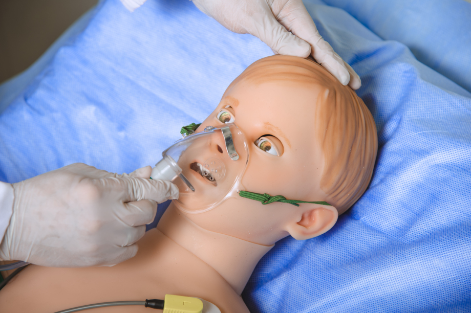 Arthur paediatric simulator